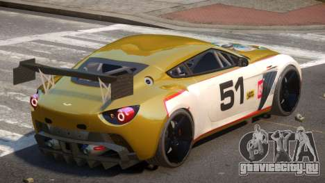 Aston Martin Zagato G-Style PJ6 для GTA 4