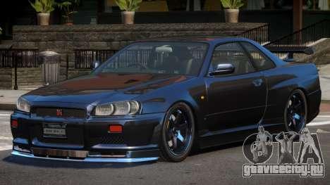 Nissan Skyline R34 SPE для GTA 4