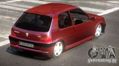 Peugeot 106 LT для GTA 4