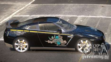Nissan GT-R35 MS для GTA 4