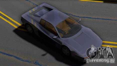 Ferrari Testarossa 1986 (IVF) для GTA San Andreas