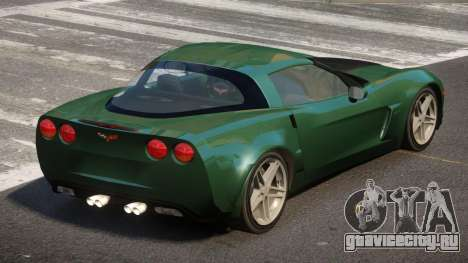 Chevrolet Corvette C6 LDI для GTA 4