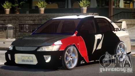 Mitsubishi Lancer G-Style PJ5 для GTA 4