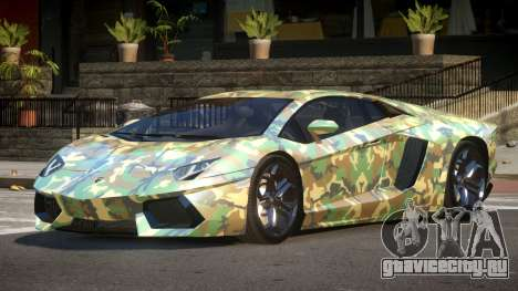 Lamborghini Aventador LP700-4 GS PJ3 для GTA 4