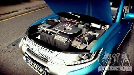 Mitsubishi Outlander GT 2018 для GTA San Andreas