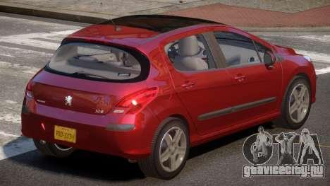 Peugeot 308 RT V1.2 для GTA 4