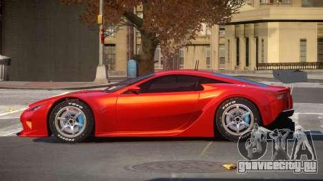 Lexus LFA R-Style для GTA 4