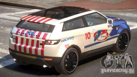 Range Rover Evoque MS PJ1 для GTA 4