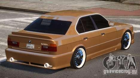BMW M5 E34 SR для GTA 4
