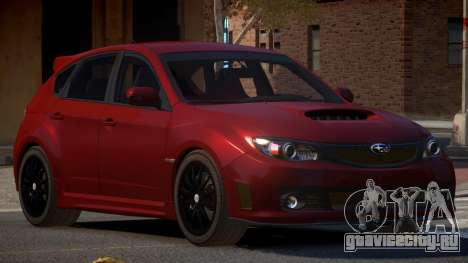Subaru Impreza CL для GTA 4