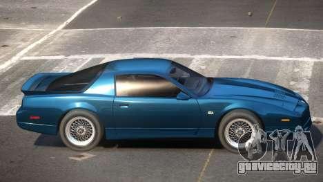 1991 Pontiac Firebird для GTA 4