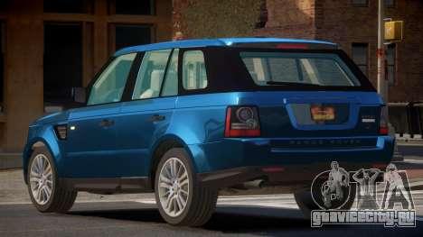 Range Rover Sport SL для GTA 4