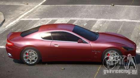 Maserati Gran Turismo E-Style для GTA 4