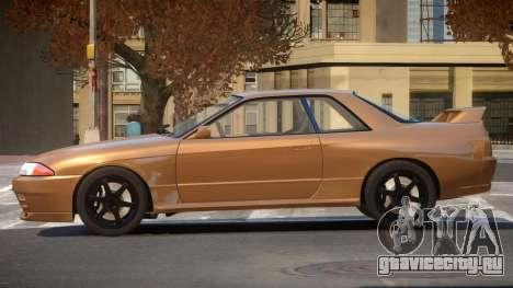 Nissan Skyline R32 V-Style для GTA 4