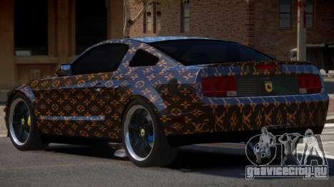 Ford Mustang G-Tuned PJ1 для GTA 4