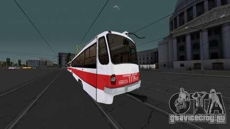 Трамвай 71-405 для GTA San Andreas