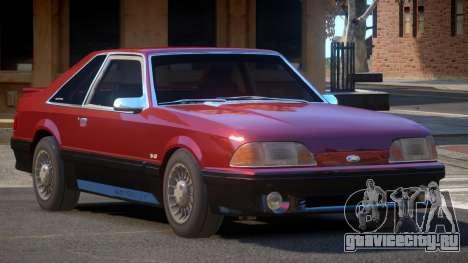 1988 Ford Mustang для GTA 4