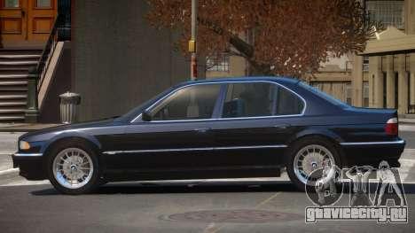 BMW 740i E38 V1.0 для GTA 4