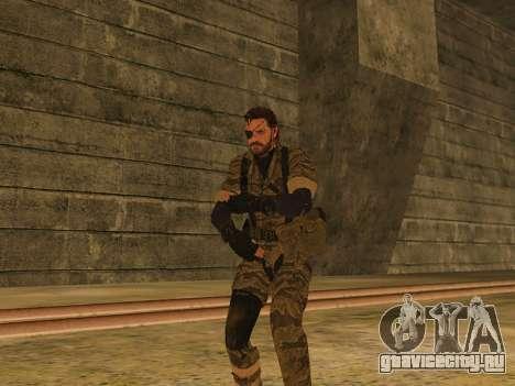 Metal Gear Solid V TPP Snake для GTA San Andreas
