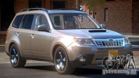Subaru Forester RP для GTA 4
