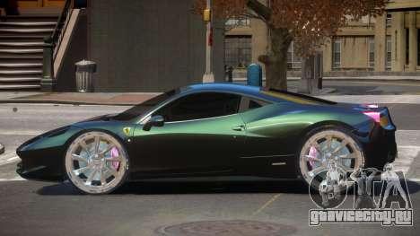 Ferrari 458 R-Tuned для GTA 4