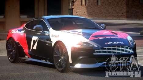 Aston Martin Vanquish LT PJ6 для GTA 4