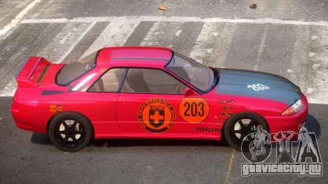 Nissan Skyline R32 V-Style PJ6 для GTA 4