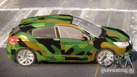 Citroen DS4 ST PJ3 для GTA 4