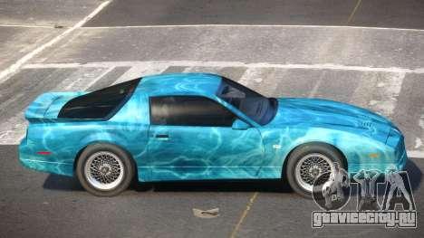 1991 Pontiac Firebird PJ1 для GTA 4