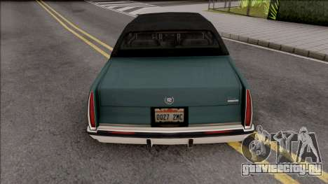 Cadillac Fleetwood Brougham 1993 v2 для GTA San Andreas