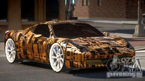 Ferrari 458 R-Tuned PJ5 для GTA 4