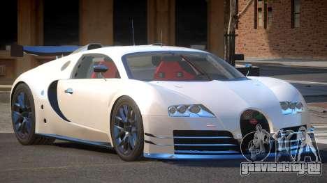 Bugatti Veyron SR 16.4 для GTA 4