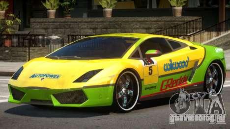 Lamborghini Gallardo LP560 MR PJ2 для GTA 4