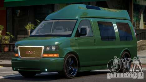 GMC Savana Travels для GTA 4