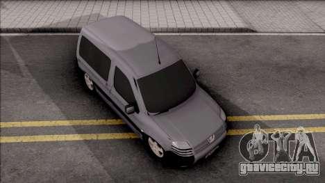Peugeot Partner Origin 1.6 HDi 2012 для GTA San Andreas