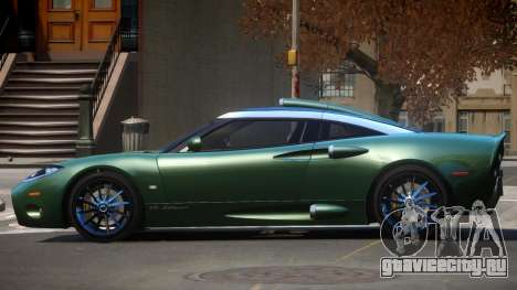 Spyker C8 TR для GTA 4