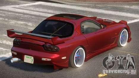 Mazda RX7 G-Tuning для GTA 4