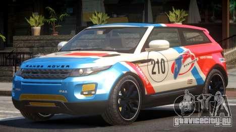 Range Rover Evoque MS PJ2 для GTA 4