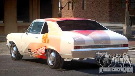 Chevrolet Nova RT PJ6 для GTA 4