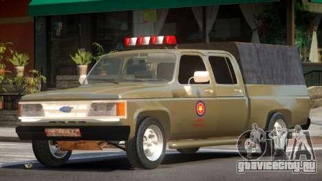 Chevrolet D20 Army для GTA 4