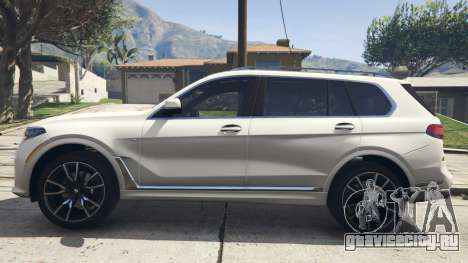 2020 BMW X7 Tuning v.1.0 [Add-On]