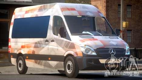 Mercedes Benz Sprinter MR PJ1 для GTA 4