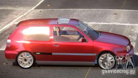 Volkswagen Golf G-Tuned для GTA 4