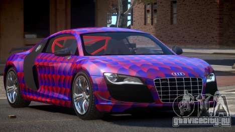 Audi R8 R-Tuned PJ3 для GTA 4