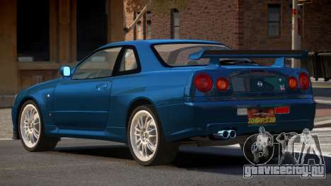Nissan Skyline R34 MS для GTA 4