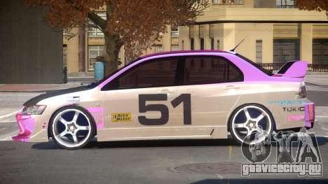 Mitsubishi Lancer G-Style PJ1 для GTA 4