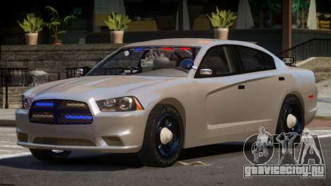 Dodge Charger Spec Police для GTA 4