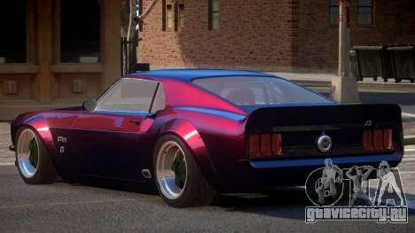 Ford Mustang TR Custom для GTA 4