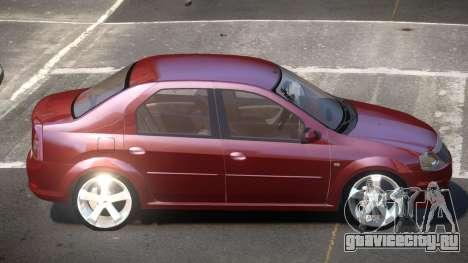 Renault Logan V1.0 для GTA 4
