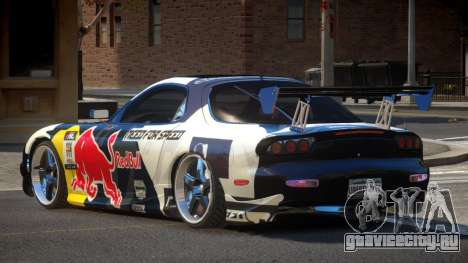 Mazda RX7 PSR PJ1 для GTA 4